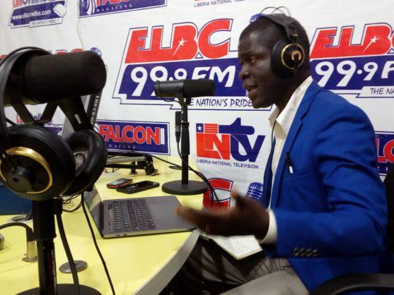 Emmanuel Urey hosting Land is Life