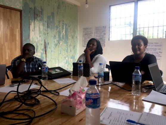 Work planning in Liberia