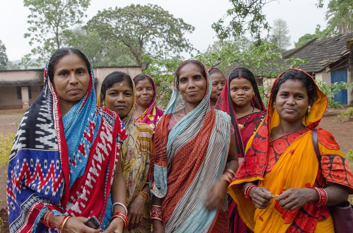 Indira and women's group