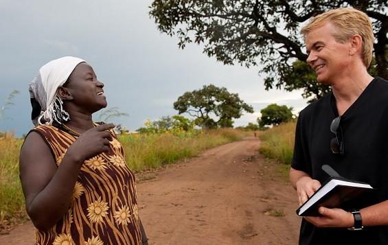 Tim Hanstad in Uganda 2012 - -by Deborah Espinosa