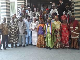 Signing ceremony in Monrovia